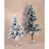 Hot Selling PE Christmas Tree With Snow Finish