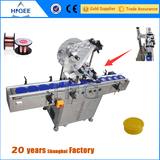 flat surface labeling machine for pouch