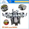 HIGGE automatic flat surface paste paper brand labeling machine