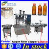 100% factory automatic powder filling and sealing machine,auger filling machine