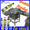 304 stainless steel bottle feeding machine,round bottle collecting turntable