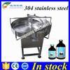 Auto 304 stainless steel bottle turntable,bottle unscrambler machine