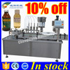 100% factory bottle filling machine,filling and sealing machine
