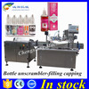 Shanghai 10ml plastic bottle capper filler,ejuice packaging machine