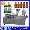 Hot sale vial filling and capping machine,50ml bottle filling capping machine
