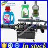 Servo motor automatic sticker label labeling machine,flat bottle labeling machine