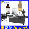 Factory price glass bottle filling line 6 head,200ml filling production line