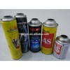 Aerosol tin can for butane gas