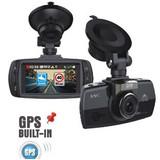 D307 1296P 2.7''  GPS dash cam car DVR car lack box