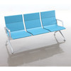 Best quality of Full injection foam waiting chair with modular aluminum parts