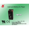 Player,Electric scale  sealed  lead acid 4v4.5amp battery