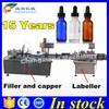 Shanghai supplier automatic e-liquid filling line,bottle filling machine