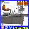 PLC controlled pharmaceutical liquid filling,filling capping machine for bottle