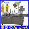 PLC controlled bottle packaging machine,argan oil filling line
