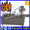 PLC controlled bottle filler,flat bottle fillng and capping machine