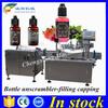 UK Peristaltic pump 20ml e-liquid filling machine,automatic filling machine for e liquid line