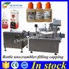 Hot sale e liquid filling machine,e-liquid packaging line