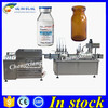 Hot sale vial cleaning filling capping machine,50ml bottle filling capping machine