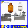 Hot sale vial cleaning filling capping machine,100ml glass bottle filling capping machine