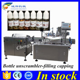 Chengxiang filling and capping machine 10ml,e-liquid bottle filling labeling machine