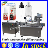 Chengxiang filling and capping machine 10ml,10ml dropper bottle filling machine