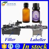 Hot sale essential oil liquid filling machine,3 in 1 filling line