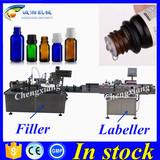 Hot sale essential oil liquid filling machine,vial filling plugging machine