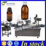 Shanghai glass bottle bottling machine,vial bottling machine 100ml