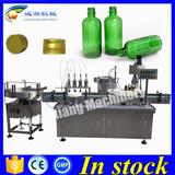 Automatic filling machine 250ml glass bottle,filling machine