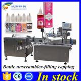 Shanghai top supplier auto ejuice flavor bottle filling line,bottling line