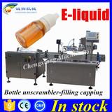Shanghai top supplier filling machine for e-liquid 60ml,bottling line