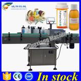 Cheap labeling machine for vials 10-500 ml,pet bottle labeling machine