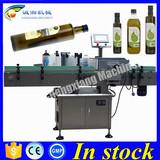 Cheap round bottle labeller,bottle labeling machine printer