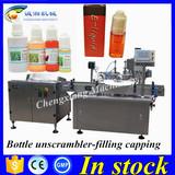 Hot sale smoke oil bottle filling machine line,30ml plastic bottle filling machine