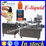 Hot sale smoke oil bottle filling machine line,30ml ejuice bottle filler