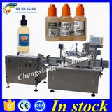 Hot sale smoke oil bottle filling machine line,ecig oil filling machine 30ml