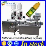 Hot sale smoke oil bottle filling machine line,10ml bottle filling packaging machine