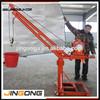 Durable quality construction lifting crane /electric hoist crane 500kg on sell