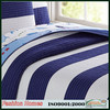 100% Cotton Striped Quilt
