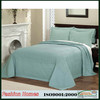 China 100% polyester/cotton solid embroidery quilt