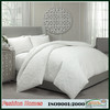 Hot selling solid embroidery quilt