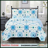 New Arrival 100% microfiber pigment printed quilt