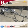 Galvanized boat trailer with kit or part