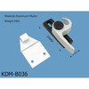 aluminum sliding window lock, sash lock, window lock