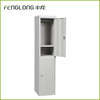 grey 2 door steel locker
