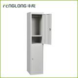 grey 2 door steel locker