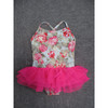 beautiful children's one piece with lace ruffle