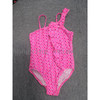 adorable children's  asymmetric one piece with ruffle