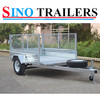 Single Axle Cage Trailer-Fully Welded