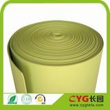 Thermal insulation irradiation polyethene foam